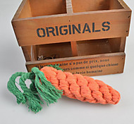 Hand-woven Carrot Shape Pet Chew Toy