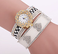 Xu™ Ladies' Fashion Heart-shaped Diamonds Bracelet Quartz Watch Cool Watches Unique Watches
