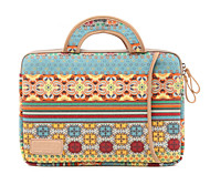 Bohemia Style Protective Sleeve Laptop Computer Handbag for Macbook Air 13.3 Macbook Pro 13.3/15.4