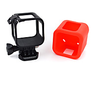 Gopro Session 4 Standard Border Silica Gel Sets Black Red White Blue Green Orange Pink Mei Red