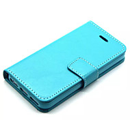Soft Suede Leather Wallet Cover Magnetic Flip Stand Case for Iphone5/5S (Assorted Colors)