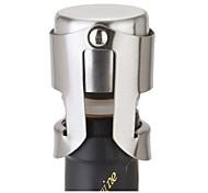 Stainless Steel Champagne Stopper Sparkling Wine Bottle Plug Sealer Silver