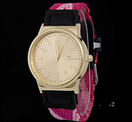 L.WEST Ladies' Nylon Woven Quartz Watch