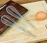 "7"" Stainless Steel Mini Rotating Whisk Egg Beater Kitchen Gadgets"
