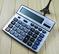 1PC Large Calculator Office Business Solar Type Computer Desktop Button Calculator(Style random)