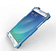 Para Samsung Galaxy Note Antigolpes / Cromado Funda Cubierta Trasera Funda Armadura Metal Samsung Note 5