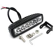 v1nf 6inch 18W 6LEDs trabalhar luz luzes bar local de condução off-road nevoeiro carro SUV 4WD