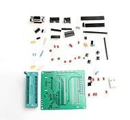 51 desenvolvimento microcontrolador placa de aprendizagem board / AVR stc89c52 kit de aprendizagem DIY