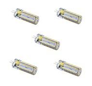 5pcs G4 81LED 3014SMD 4.5W 300LM 3000K/6000K Warm White/Cool White Light Lamp Bulb(AC/DC 10-20V)