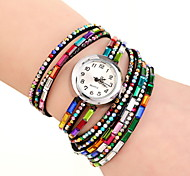 Women's  Fashion Colour Strap Bracelet Watch Fashion Quartz Watch
