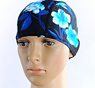 Unisex Polyster Material Swim Caps for Swimming and Diving(Random Colors)
