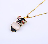 32GB Necklace Rabbit Jewelry USB 2.0 Rotatable Flash Memory Stick Drive U Disk ZP-25