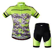 Wosawe Bike/Cycling Bib Shorts / Jersey + Shorts / Sweatshirt / Jersey / Tops / Clothing Sets/Suits Women's / Unisex Short Sleeve