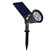 2 в 1 Солнечный свет Ландшафтное освещение водонепроницаемый открытый прожектор стены для флага дерево подъездной двор газон