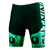 PALADINSPORT New Men 's Cycling Shorts Bike TROUSERS with 3 d Pad Lycra DK627 lightning green