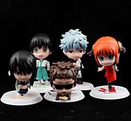 Gintama Outros PVC Figuras de Ação Anime modelo Brinquedos boneca Toy