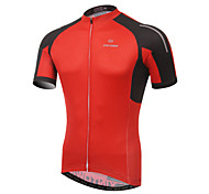 XINTOWN Bike/Cycling Jersey / Tops Men's Long Sleeve Breathable / Ultraviolet Resistant / Quick Dry / Limits Bacteria Elastane / Terylene
