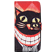 Cat Pattern PU Leather Case with Money Holder Card Slot for Galaxy Grand Neo/Galaxy Grand Prime/Galaxy Core Prime