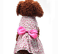 Beautiful Bowknot Pet Dress