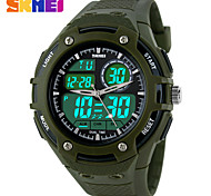 Sports Watch Men's / Ladies' / Unisex LCD / Compass / Pulse Meter / Calendar / Chronograph / Dual Time Zones / Sport Watch Digital Digital
