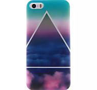 Clouds Design IMD+TPU Back Cover Case iPhone SE iPhone 5 iPhone 5S