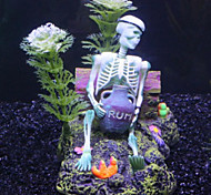 Fish Tank Aquarium Decoration Ornament Artificial Plastic