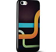 em relevo conduta caso mágico ultra fino protetor tampa traseira macia do iphone para iphone 5s / iphone SE / iphone 5