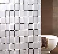 grande boîte imperméable rideau de douche peva nappe verte toilettes salle de bains