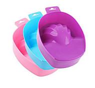1pcs arte do prego removedor de lavar a mão mergulhar tigela DIY salão de manicure ferramentas spa tratamento de banho de manicure (cor