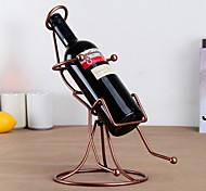 balançar projeto da cadeira vinho rack de ferro puro do vintage