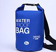 5 L Waterproof Dry Bag Camping & Hiking / Cycling/Bike Outdoor Waterproof / Compact  PVC