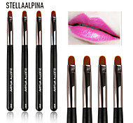 Stellaalpina Lip Brush Nylon MAC Makeup Style Portable Wood Lip