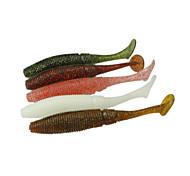 """12 pcs Weiche Fischköder / Gummifische Verschiedene Farben 8 g/5/16 Unze,100 mm/4"""" Zoll,Weicher KunststoffSpinning / Fischen im Süßwasser"""