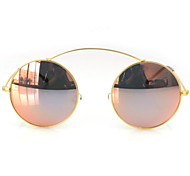 Sunglasses Women's Modern / Fashion Round White / Yellow / Gold / Red / Purple / Green Sunglasses Full-Rim
