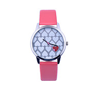 Women'S Watch Love Pattern Watch Fashion Wild Couple Watches Quartz Watches Montres Femme