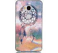 2-in-1 Dream Catcher Pattern TPU Back Cover with PC Bumper Shockproof Soft Case for Hawei Honor 5X