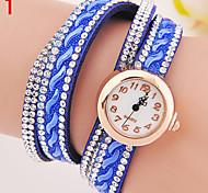 relógio atyle quente tabela de cores de diamante moda maré genebra relógio de senhora