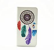 carteira de couro pu caso de corpo inteiro com suporte para Samsung Galaxy a3 2016 - padrão colorido coletor ideal