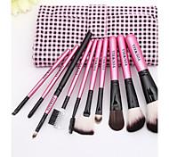 Brush Set 10Pcs High-End Cosmetic Brush Beauty Tools