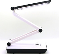 360 ROTATING LED Folding Rechargable Reading Desk Table Lamp Light Touch Control