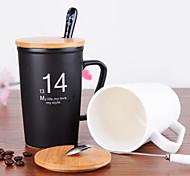 regalo di 1314 coppie tazze vita in bianco e nero luce muto di ceramica della tazza della tazza 1pc di 450ml di San Valentino