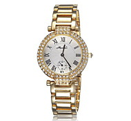 Ladies' Fashion Watch High-grade diamond ladies watch fashion steel quartz watch  (Assorted Colors)