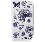 Dandelion Pattern PU Leather Case with Money Holder Card Slot for Galaxy Grand Neo/Galaxy Grand Prime/Galaxy Core Prime