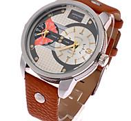 la mode hommes pointeur créatif cadran rotatif en acier inoxydable montre à quartz étanche cadeau montres de homme idée