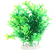 Green Artificial Water Plants for Aquarium Model C