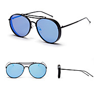 100% UV400 Aviator Fashion Mirrored Sunglasses