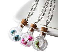 Women's Pendant Necklaces Glass Fashion Jewelry For Daily Casual