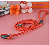 Nylon Adjustable Training Lead Pet Dog Leash Dog Strap Rope Traction Dog Harness Collar Lead