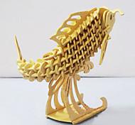 Пазлы 3D пазлы Деревянные пазлы Строительные блоки Игрушки своими руками Рыбки Дерево