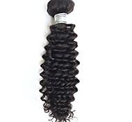 Человека ткет Волосы Бразильские волосы Кудрявый 1 шт. волосы ткет